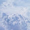Susanne Wehmer, pintura hiperrealista, nubes 02
