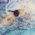 Susanne Wehmer, pintura hiperrealista, Nadador #7