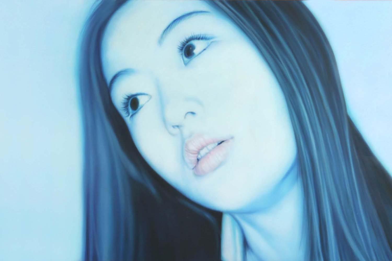 Susanne Wehmer pintura hiperrealista hyperrealistic painting hyperrealistische malerei hiperrealismo hyperrealism hyperrealismus oleo plexiglas